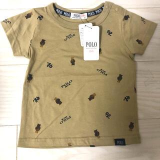 バースデー ポロベア 総柄Tシャツ 95(Tシャツ/カットソー)