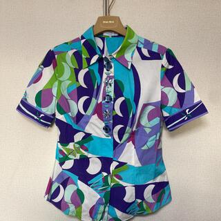エミリオプッチ(EMILIO PUCCI)のエミリオプッチヴィンテージシャツ(シャツ/ブラウス(半袖/袖なし))