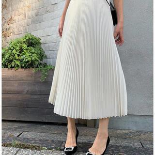 ツルバイマリコオイカワ(TSURU by Mariko Oikawa)のtsurubymarikooikawaのプリーツスカート(ロングスカート)