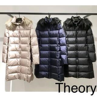 theory - セオリー ダウン コート