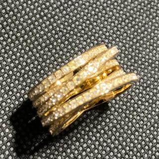 スワロフスキー(SWAROVSKI)のスワロフスキー連リング(リング(指輪))