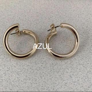 アズールバイマウジー(AZUL by moussy)のAZUL 変形フープピアス(ピアス)