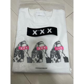 ゴッドセレクションxxx Tシャツ トリプルエックス ステッカー付(Tシャツ/カットソー(半袖/袖なし))
