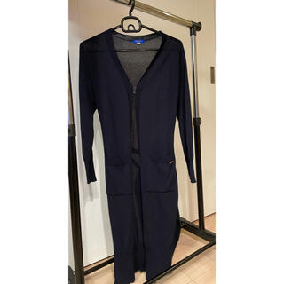 BURBERRY BLUE LABEL - BLUE  LABEL CREST BRIDGE ロングカーディガン