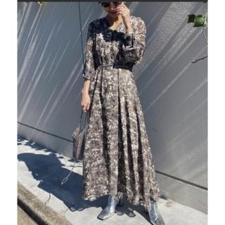 Ameri VINTAGE - Ameri【未使用品】MONA DESIGN NECK DRESS