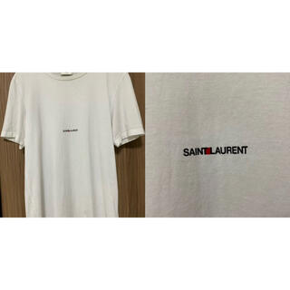 Saint Laurent - SAINT LAURENT サンローラン 定番ロゴTシャツ