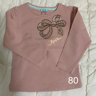 TOCCA - TOCCA トッカ 80 長袖Tシャツ ロンT 新品未使用 ピンク系