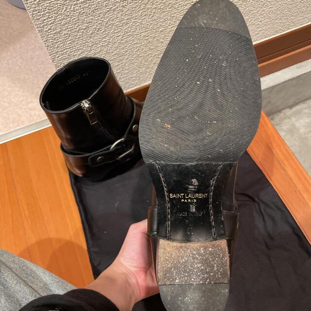 Saint Laurent(サンローラン)のsaint laurent paris リングブーツ 40 メンズの靴/シューズ(ブーツ)の商品写真