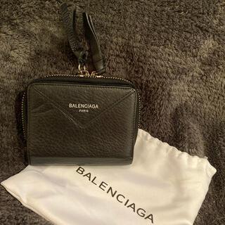 Balenciaga - バレンシアガ 財布 2つ折り ブラック