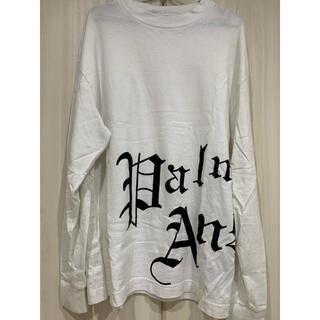 バレンシアガ(Balenciaga)のpalm angels ロンT ホワイト(Tシャツ/カットソー(七分/長袖))