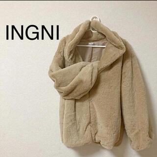 イング(INGNI)のINGNI  レディース ファーコート(毛皮/ファーコート)