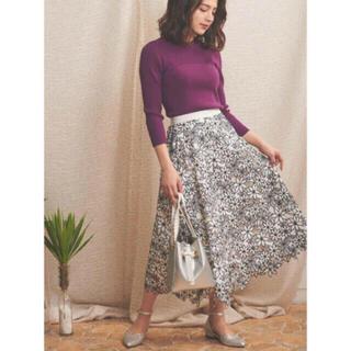 ノエラ(Noela)の完売 2020 Noelaノエラ ボタニカル刺繍レーススカート(ひざ丈スカート)
