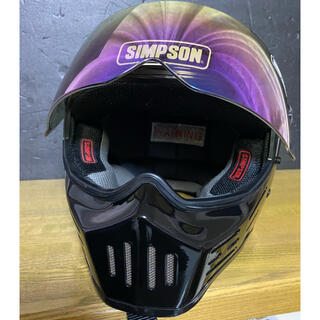 シンプソン(SIMPSON)のシンプソン M30 ブラック  60cm(ヘルメット/シールド)