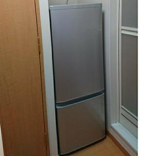 三菱 - 一人暮らし 冷蔵庫 MITSUBISHI MR-P15E-S