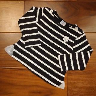 ハッカベビー(hakka baby)のhakka baby 長袖 Tシャツ カットソー 80cm(シャツ/カットソー)