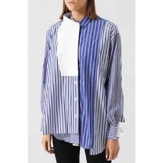 sacai - sacai サカイ アシンメトリー シャツ ドッキングシャツ トップス ブラウス