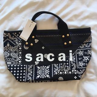 sacai - sacai サカイ2021SS  パッチワークトートバック Mサイズ
