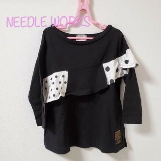 ニードルワークスーン(NEEDLE WORK SOON)の【120】ニードルワーク 長袖 トップス(Tシャツ/カットソー)