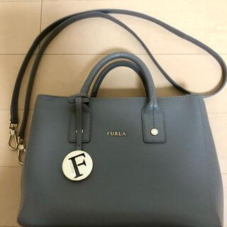 Furla - フルラ ハンドバッグ グレージュ 2way リンダ ロゴチャーム