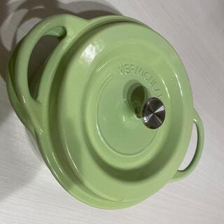 バーミキュラ(Vermicular)の 【はれ様専用】バーミキュラ オーブンポットラウンド  18cm グリーン(鍋/フライパン)