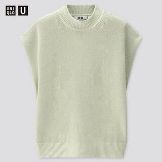 UNIQLO - UNIQLO U リブクルーネックセーター