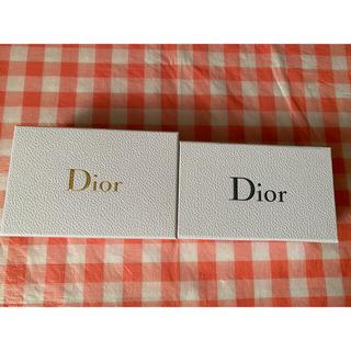 ディオール(Dior)のDior ディオール プレゼント用 空き箱 空箱 ラッピング用(その他)