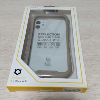 ハイミー(HIMMY)のHamee IFACE REFLECTION CASE IP11 BEIGE(iPhoneケース)