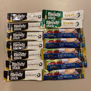 エイージーエフ(AGF)のblendy stick 9本 カフェオレ 5本(コーヒー)