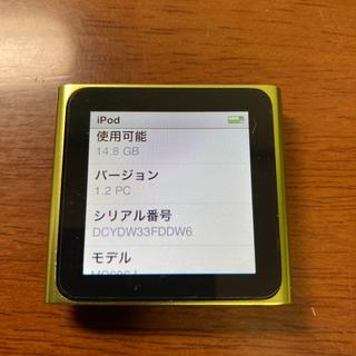 Apple - iPod nano 16GB 第6世代 ライムグリーン