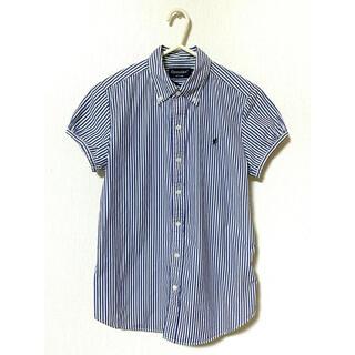 ジムフレックス(GYMPHLEX)のGymphlex ストライプ半袖シャツ(シャツ/ブラウス(半袖/袖なし))