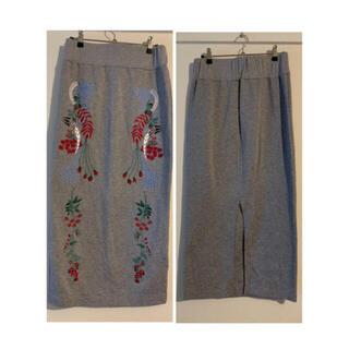 mame - mame 18SS 刺繍 スカート