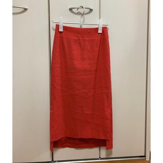 エストネーション(ESTNATION)のエストネーション ストレッチリネンタイトスカート 36(ひざ丈スカート)