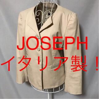 ジョゼフ(JOSEPH)の★JOSEPH/ジョセフ★極美品★イタリア製!長袖ジャケット38(M.9号)(ノーカラージャケット)