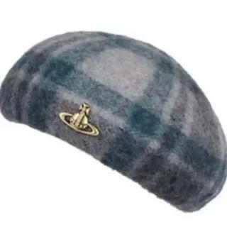 Vivienne Westwood - 値下げ Vivienne Westwood チェックベレー帽