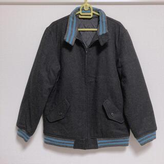 ビームス(BEAMS)の美品 BEAMS ビームス 中綿ジャケット フルジップ 内ポケット付き(ライダースジャケット)
