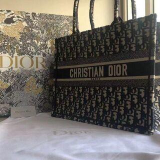 Dior - クリスチャンディオール ブックトートスモールバック