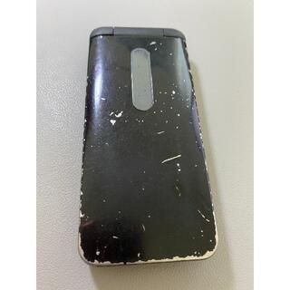 キョウセラ(京セラ)の【中古】au GRATINA 4G KYF31SKA BLACK(スマートフォン本体)
