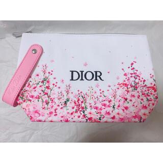 Christian Dior - ディオール 花柄新作ポーチ ノベルティ