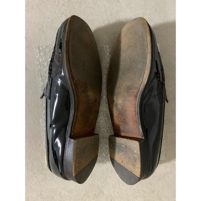 J.M. WESTON(ジェーエムウエストン)のJ.M. WESTON エナメルシグニチャーローファー180 サイズ6D メンズの靴/シューズ(ドレス/ビジネス)の商品写真