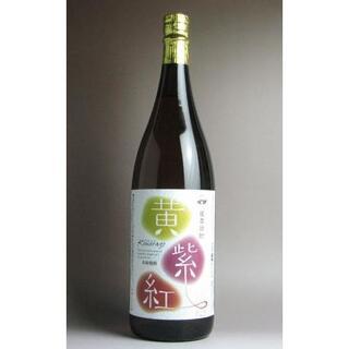【さつま無双(株)】 黄紫紅(きむらご)1.8L 25度 4本セット(焼酎)