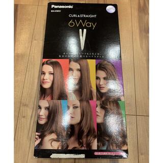 パナソニック(Panasonic)のヘアーアイロン マルチ 6Way EH-HW51 新品(ヘアアイロン)