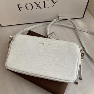 FOXEY - ♡極美品♡ FOXEY パーフェクトデイリー バッグ デイジーリン ホワイト