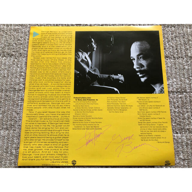 ジョージベンソン     【美品】国内盤LPレコード エンタメ/ホビーのCD(ポップス/ロック(洋楽))の商品写真