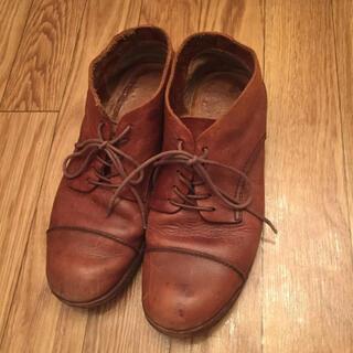エヴァムエヴァ(evam eva)のevam eva レースアップシューズ レザー 革靴(ローファー/革靴)