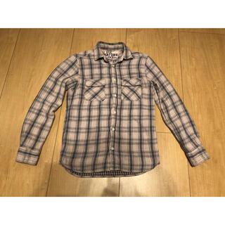 ハリウッドランチマーケット(HOLLYWOOD RANCH MARKET)のfree cityネルシャツ サイズ1 チェックシャツ キムタク フリーシティ (シャツ)