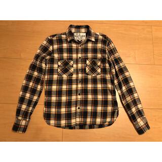 ハリウッドランチマーケット(HOLLYWOOD RANCH MARKET)のfree city ネルシャツ チェックシャツ フリーシティ キムタク サイズ1(シャツ)