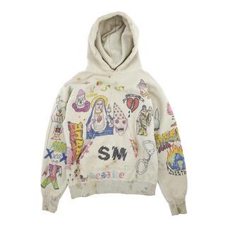 レディメイド(LADY MADE)のSAINT MICHAEL hoodie Lサイズ セントマイケル パーカー(パーカー)