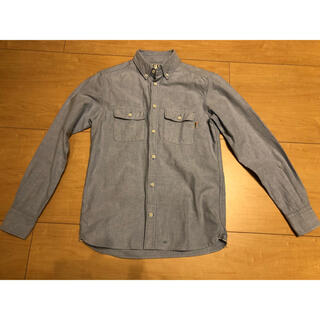ハリウッドランチマーケット(HOLLYWOOD RANCH MARKET)のfree cityダンガリーシャツ デニム素材 フリーシティ サイズ1 キムタク(シャツ)