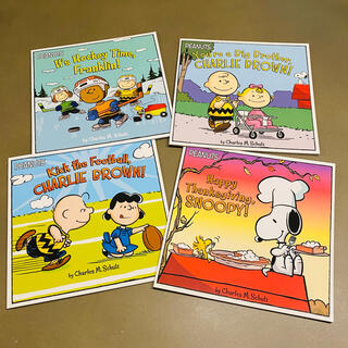 ピーナッツ(PEANUTS)のPEANUTS英語絵本 幼児洋書 4冊セット(絵本/児童書)