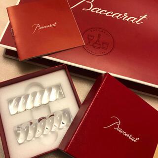Baccarat - 【未使用・保管品】バカラ チョップスティックホルダー バンブードール 箸置き